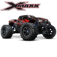 TRAXXAS - X-MAXX ROUGE 4WD BRUSHLESS RADIO TQI & TSM ID RTR 77076-4