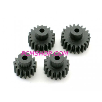 KYOSHO - MACHINE CUT PINION GEAR MINI-Z AWD (4) MDW010