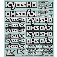 KYOSHO - DECORATION KYOSHO LOGO (235x210mm) 36276