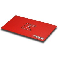 KYOSHO - TAPIS DE STAND KYOSHO BIG K 2.0 - ROUGE (61x122cm) 80823R