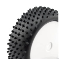 HOBBYTECH - 1/10 BUGGY TYRES FRONT BIG SPIKES (2) HT-423