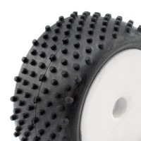 HOBBYTECH - 1/10 BUGGY TYRES REAR BIG SPIKES (2) HT-424