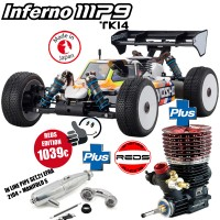 KYOSHO - INFERNO MP9 TKI4 + REDS R5T TEAM EDITION 4.0 + REDKM210008 33001B-REDR5TTE4.0