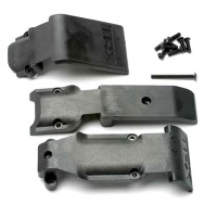 TRAXXAS - SKID PLATE SET, FRONT (2 PIECES, PLASTIC)/ SKID PLATE, REAR (1 PIECE, PLASTIC) 5337