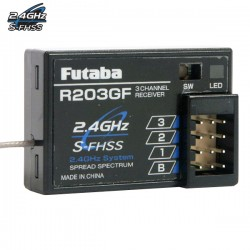 FUTABA - RECEPTEUR R203GF-24GHZ S-FHSS/FHSS