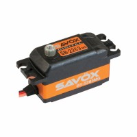 SAVOX - SB-2263MG HIGH SPEED LOW PROFILE BRUSHLESS STEEL GEAR SERVO SB-2263MG