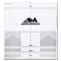 ARROWMAX - STICKER DE PLANCHE DE REGLAGE TT 1:8 & TRUGGY AM170075
