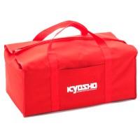 KYOSHO - SAC DE TRANSPORT KYOSHO ROUGE (TOILE) 87619
