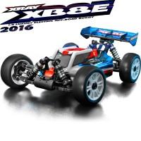 XRAY - XB8E 2016 TT 1/8 ELECTRIQUE LUXURY KIT 350153