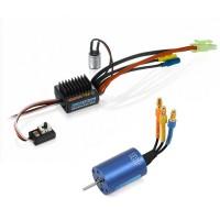 HOBBYWING - COMBO EZRUN VARIATEUR 18AMP/MOTEUR (18T/5200KV) + CARTE LED 81030010