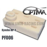 6MIK - AIR FILTER FOAMS FOR KYOSHO MP9 TKI3 PF006