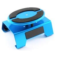 FASTRAX - BLUE ALUM LOCKING ROTATING CAR MAINTENANCE STAND W/MAGNET FAST407B