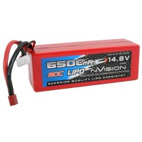 NVISION - BATTERIE NVISION FACTORY PRO LIPO 4S-6500-90C/DEANS NVO1103