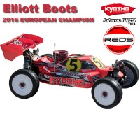KYOSHO - INFERNO MP9 TKI4 EC16 CELEBRATION KIT *EB-MC LTD* 33001EC16