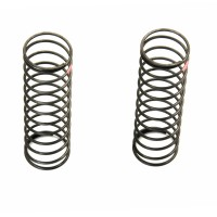 KYOSHO - BIG BORE SHOCK SPRINGS MEDIUM HARD RED (2) L-SIZE W5304V XGS014