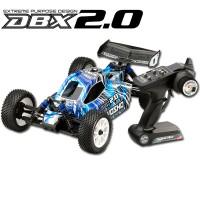 KYOSHO - DBX 2.0 BUGGY READYSET (GXR18/KT200) T1 BLUE 31098T1