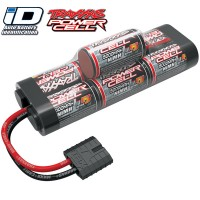 TRAXXAS - ACCUS SERIE 5 iD POWER CELL 8,4V NI-MH 7 ELEMENTS 5000 MAH (6+1) 2961X