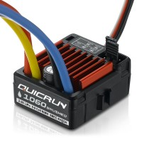 HOBBYWING - VARIATEUR QUICRUN 1060 WATERPROOF BRUSHED SBEC (60A) 30120201