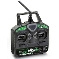 "ABSIMA - 2-CHANNEL RADIO ""SR2S"" 2.4GHZ INCL. RECEIVER ""R3FS"" 2000021"