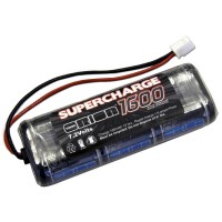 TEAM ORION - PACK SUPERCHARGE STICK 1600 (7.2V) / PRISE MICRO 24AWG ORI13044