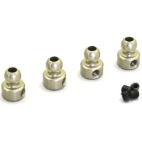 KYOSHO - ROTULES DURES DE BARRE ANTI-ROULIS 3MM (4) 92653H