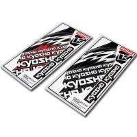 KYOSHO - ADHESIF DE PROTECTION DE CHASSIS ULTIMA RB6.6 UMW729