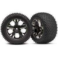 TRAXXAS - ROUES ARRIERE MONTEES COLLEES ALIAS 2.8 (2) 3770A