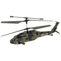 UDI RC - HELICOPTERE BLACK HAWK 2.4G RC3779