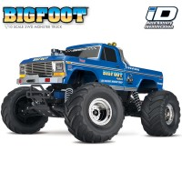 TRAXXAS - BIGFOOT NO.1 4x2 1/10 BRUSHED TQ 2.4GHZ - iD 36034-1