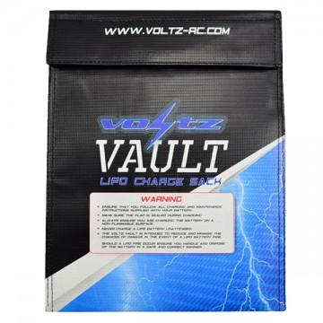 Voltz Charge Vault Lipo Sack//bag Medium 22cm X 18cm