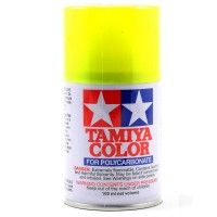 TAMIYA - PS-27 FLUORESCENT YELLOW LEXAN SPRAY PAINT 86027