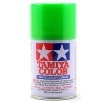 TAMIYA - PS-28 FLUORESCENT GREEN LEXAN SPRAY PAINT 86028