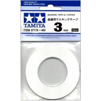 TAMIYA - BANDE CACHE 3MM POUR COURBES 87178