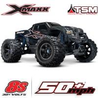 TRAXXAS - X-MAXX 8S 4WD BRUSHLESS RADIO TQI & TSM ID RTR 77086-4