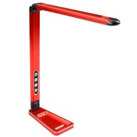 TEAM CORALLY - LAMPE DE STAND ROUGE C-16310
