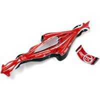 KYOSHO - BODY SHELL DRONE RACER G-ZERO RED DRB001R