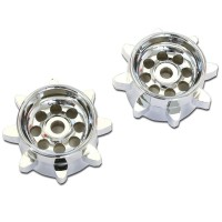 KYOSHO - SPROCKET EP BLIZZARD (2) - SILVER BL8MS