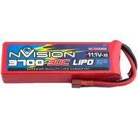 NVISION - BATTERIE LIPO 3S-11.1V-3700-30C - DEANS NVO1813