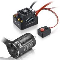 HOBBYWING - COMBO EZRUN MAX10 SCT 120AMP-3660SL-4000KV+PIGNON 23DTS 48DP 38010201