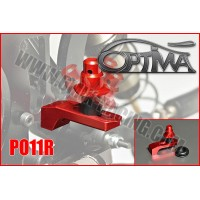6MIK - OPTIMA REAR RED FLEXIBLE BODYSHELL SUPPORT PO11R