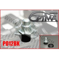 6MIK - OPTIMA FRONT BLACK FLEXIBLE BODYSHELL SUPPORT PO12BK