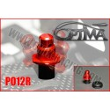 6MIK - SUPPORT CARROSSERIE AVANT OPTIMA SUR SILENT BLOC ROUGE PO12R