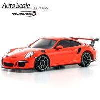 KYOSHO - AUTOSCALE PORSCHE 911 GT3 RS ORANGE (N-RM) MZP150OR