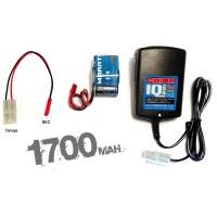 TEAM ORION - COMBO CHARGER IQ801-RX 1700 (ORI30197+ORI12243) EU-BEC ORI30201B1