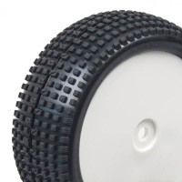 HOBBYTECH - 1/10 FRONT BUGGY TYRES SQUARE HT-429