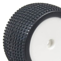 HOBBYTECH - 1/10 REAR BUGGY TYRES SET SQUARE HT-430