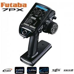 FUTABA - RADIO 7PX 7-VOIES 2.4GHZ T-FHSS TELEMETRY SYSTEM W/R334SB