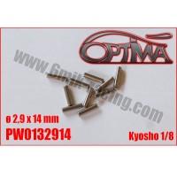 6MIK -GOUPILLES DE CARDANØ2,9 X 14 MM PW0132914