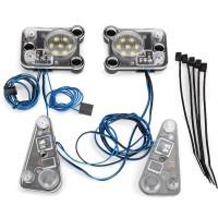 TRAXXAS - KIT PHARES AVANT/ARRIERE A LED (NECESSITE TRX8028) 8027