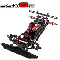TEAM CORALLY - VOITURE PISTE SSX-8R KIT - CHASSIS SEUL C-00130